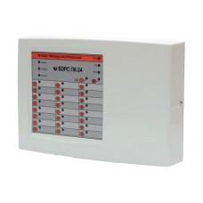 Прибор приемно-контрольный охранно-пожарной на 24 зоны ВЭРС-ПК-24П верс. 3.2