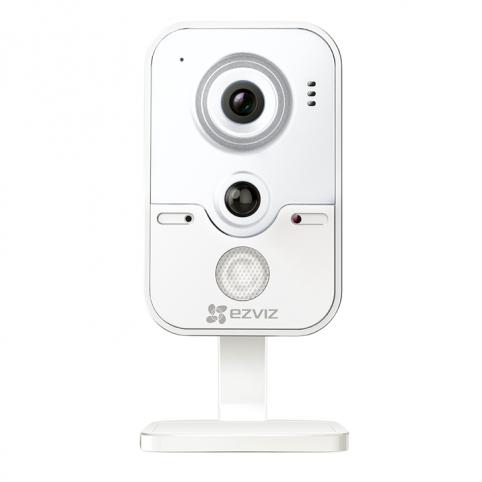 IP сетевая Wi-Fi камера видеонаблюдения в стандартном корпусе EZVIZ C2W