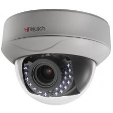 Купольная HD-TVI камера видеонаблюдения HiWatch DS-T207P