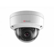 Купольная IP камера видеонаблюдения HiWatch DS-I202
