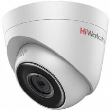 Купольная IP камера видеонаблюдения  HiWatch DS-I203