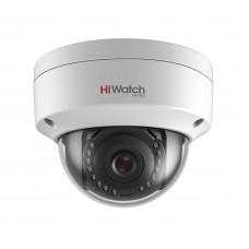 Купольная IP камера видеонаблюдения HiWatch DS-I208