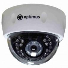 Купольная IP-камера видеонаблюдения Optimus IP-E022.1(3.6)_V2035