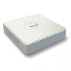 Гибридный 4-х канальный видеорегистратор HiWatch DS-H104G