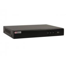 Гибридный 8-ми канальный видеорегистратор HiWatch DS-H208U