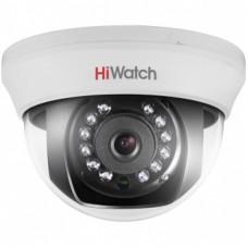 Купольная HD-TVI камера для видеонаблюдения HiWatch DS-T101