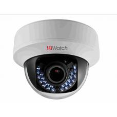 Купольная HD-TVI камера для видеонаблюдения HiWatch DS-T107