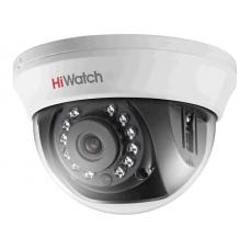Купольная HD-TVI камера видеонаблюдения HiWatch DS-T201