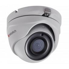 Купольная HD-TVI камера видеоналюдения HiWatch DS-T203