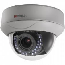 Купольная HD-TVI камера видеонаблюдения HiWatch DS-T227