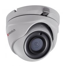 Купольная HD-TVI камера видеонаблюдения HiWatch DS-T303