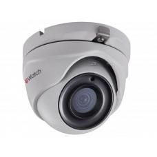 Купольная HD-TVI камера видеонаблюдения HiWatch DS-T503